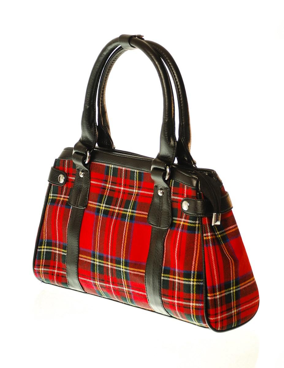 Tartan Handbag William Glen Amp Son