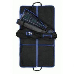 Kilt Outfit Garment Bag Blue Trim