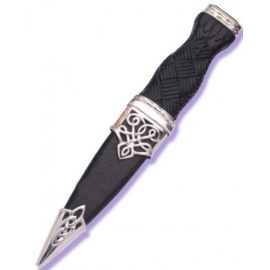 Lomond Sterling Silver Sgian Dubh With Stone
