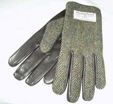 Gents Gloves- Herring Bone Brown