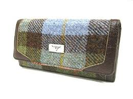 Ladies Tartan Tweed Purse