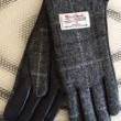Ladies Tweed Check Gloves