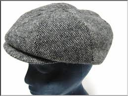 Tweed Paper Boy Hats