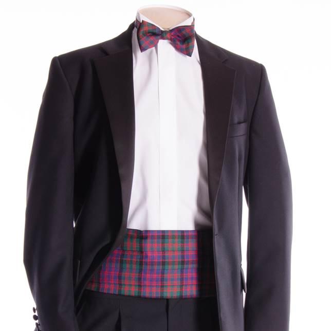 cummerbund bow tie set william glen