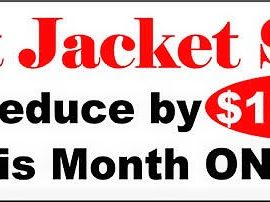 Month of January Only. In stock Only.