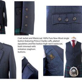 Crail Day Jacket & Waistcoat