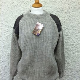 Natural Tweed Sweater