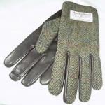 Gents Gloves- Herring Bone Brown
