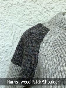 Shoulder Tweed Patch